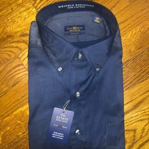 Men's Button Down Shirt size XL 17 32/33